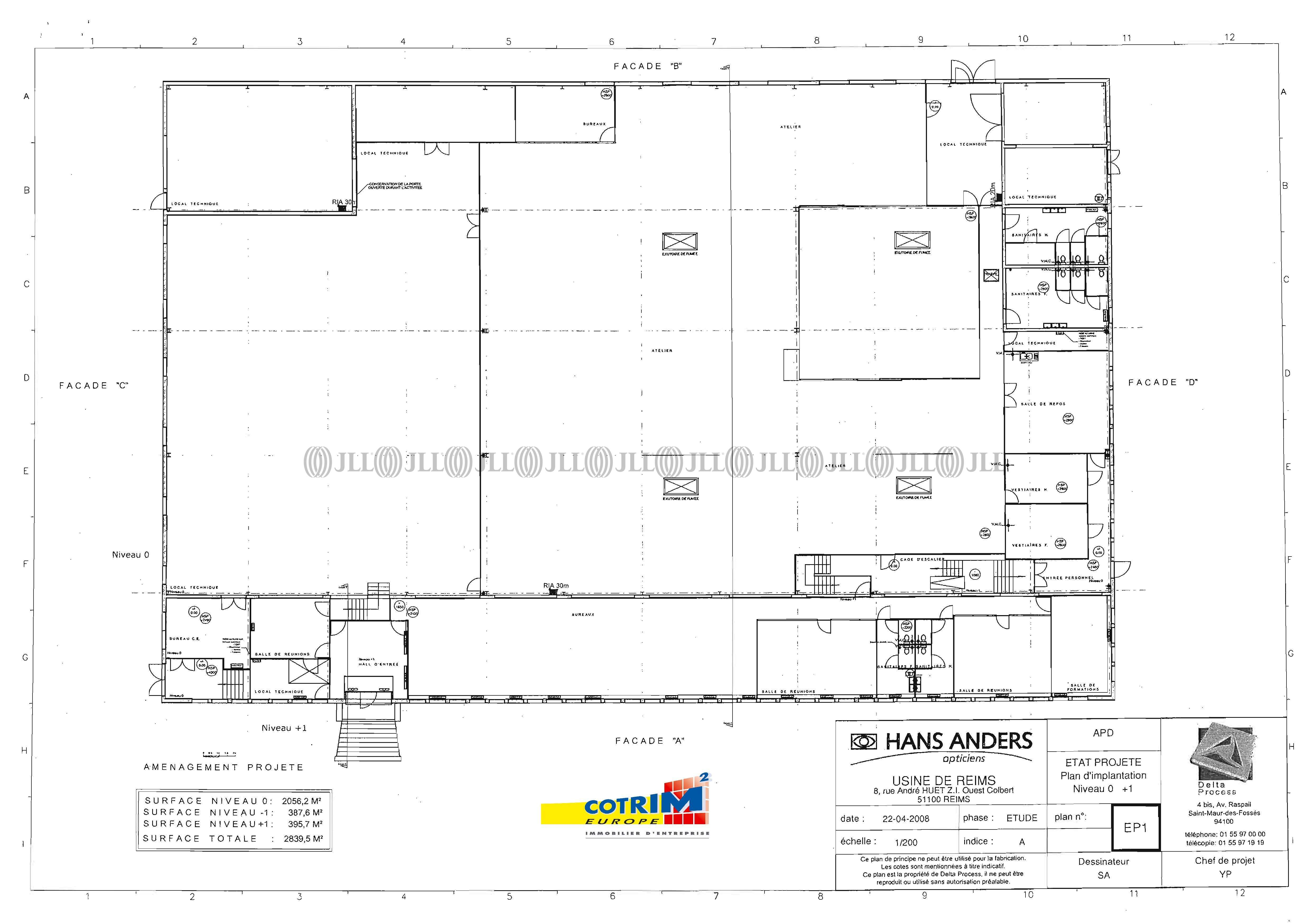 Activités/entrepôt Reims, 51100 - 8 RUE ANDRÉ HUET - 488639