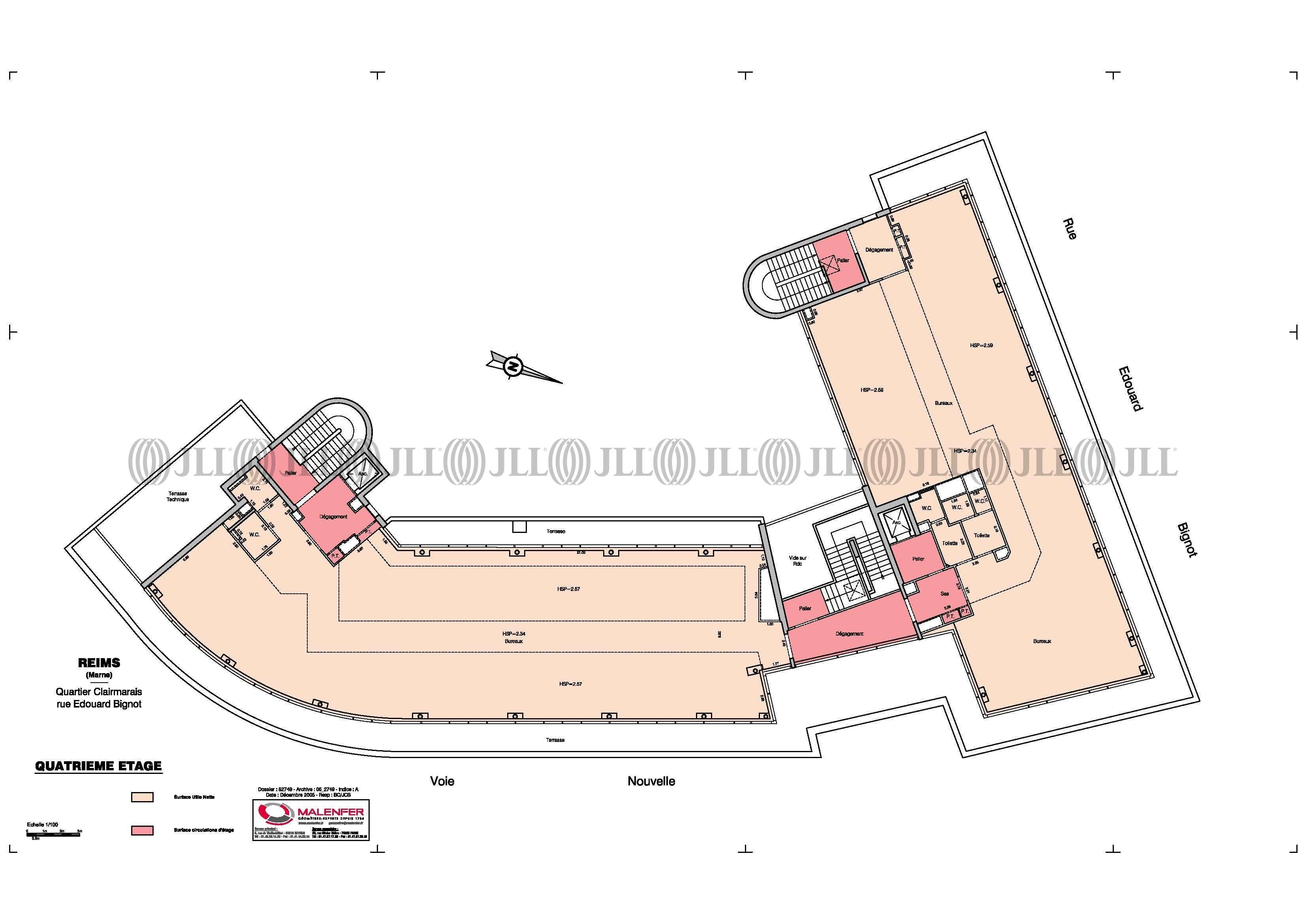 Bureaux Reims, 51100 - LE PARVIS - 488608