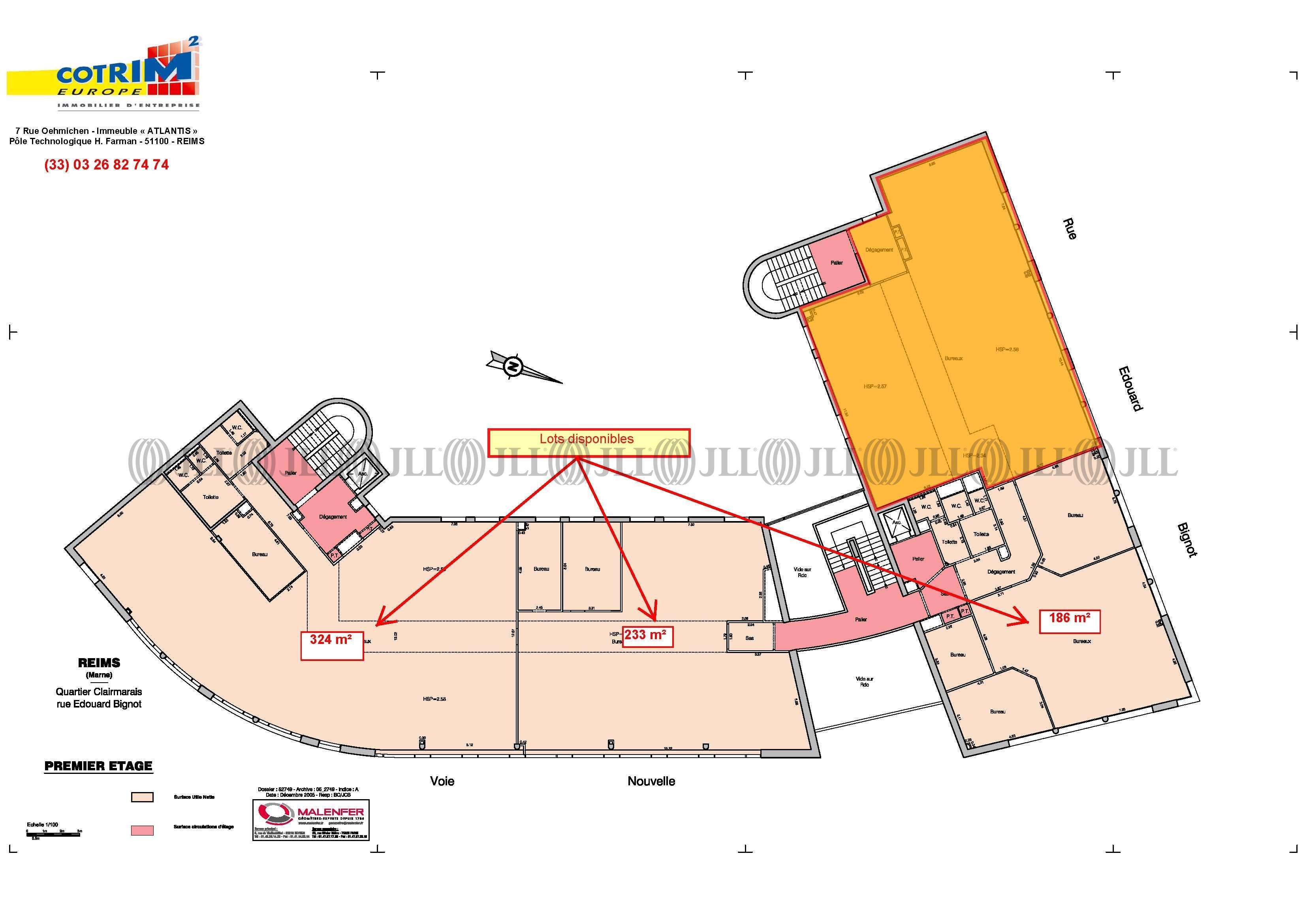 Bureaux Reims, 51100 - LE PARVIS - 488757