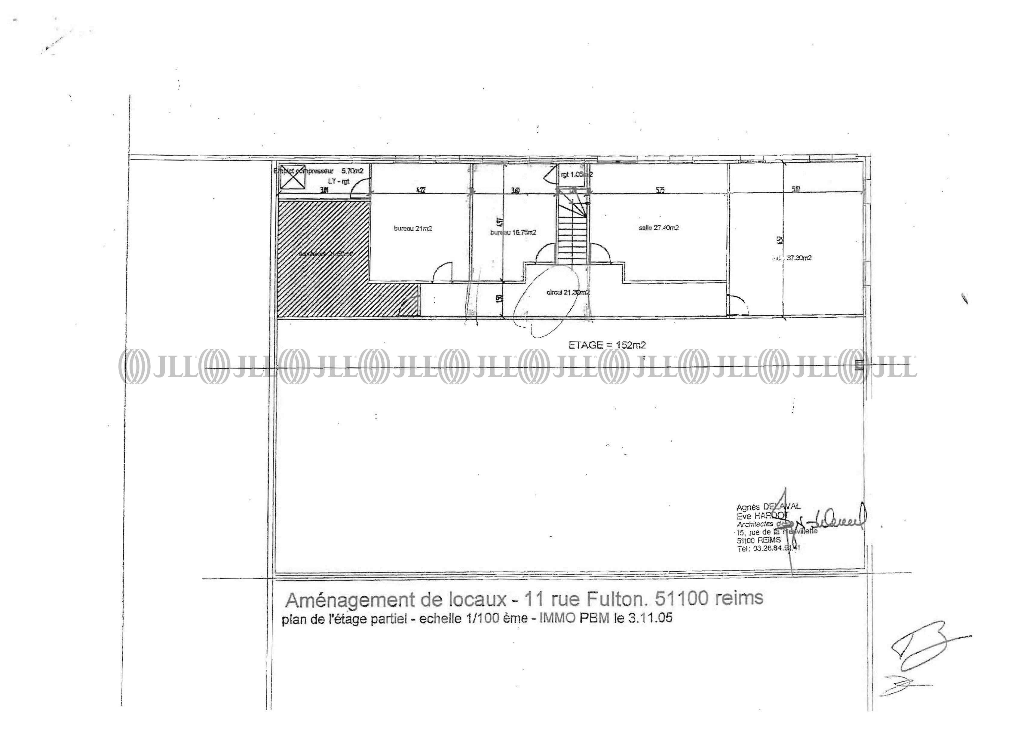 Bureaux Reims, 51100 - 7 RUE ROBERT FULTON - 488683