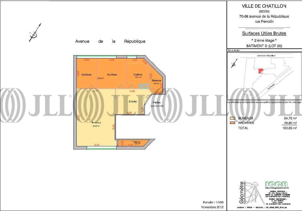 Activités/entrepôt Chatillon, 92320 - VECTEUR SUD - 9444779