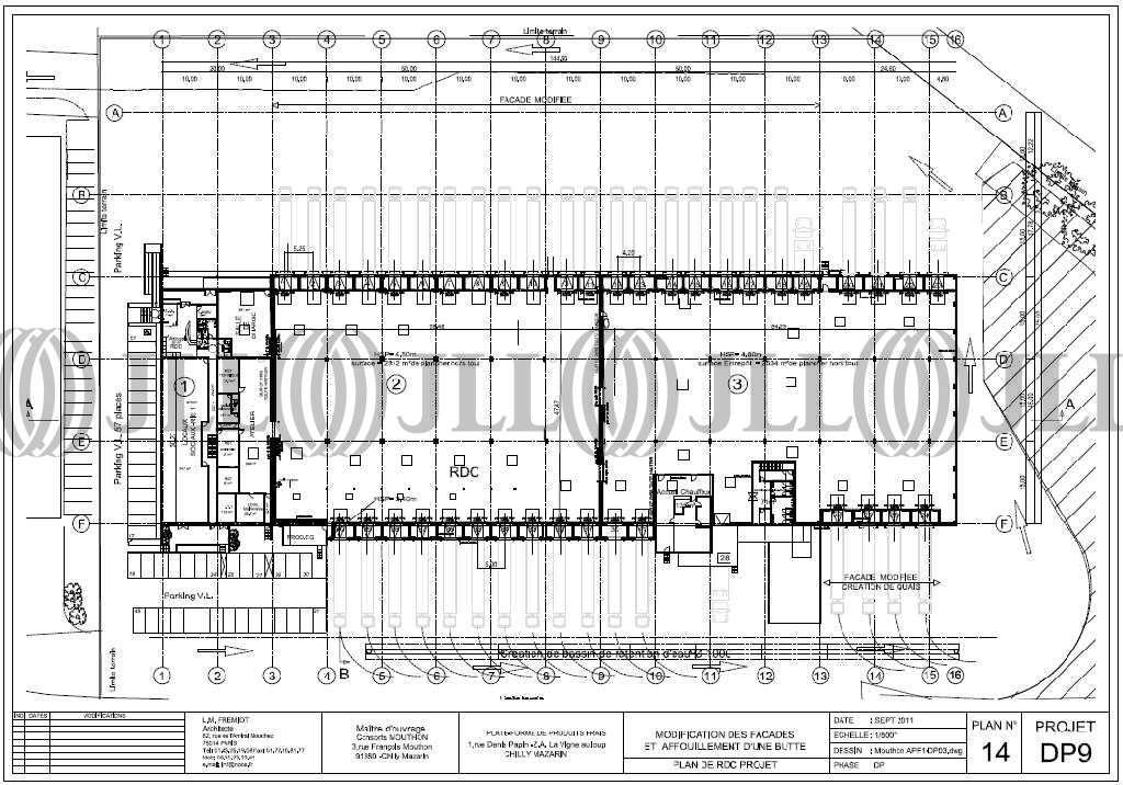 Activités/entrepôt Chilly mazarin, 91380 - BATIMENT 1 - 9448122