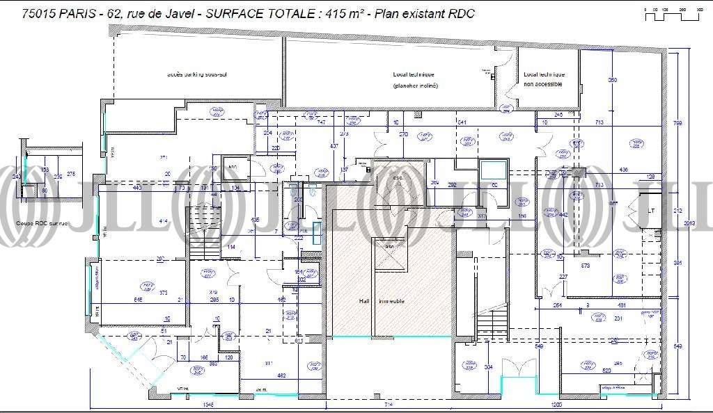 Bureaux Paris, 75015 - 62-64 RUE DE JAVEL - 9472442