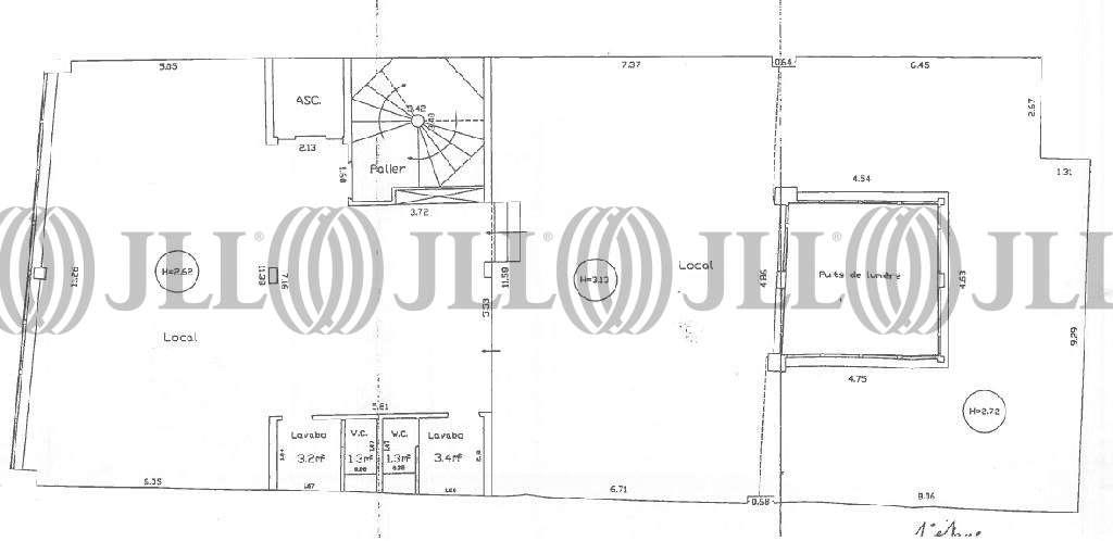 Bureaux Levallois perret, 92300 - 64BIS RUE KLEBER - 9458765