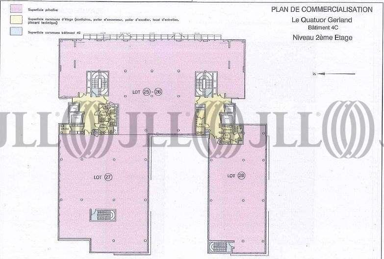Bureaux Lyon, 69007 - QUATUOR 4C - 9453261