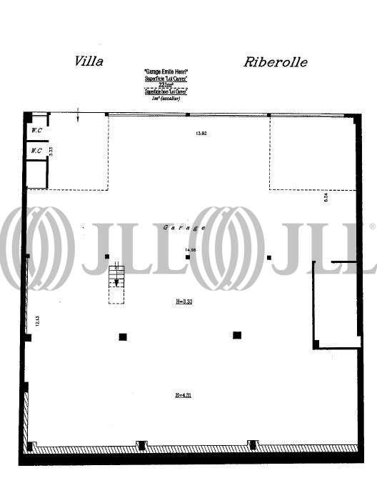 Bureaux Paris, 75020 - 15 VILLA RIBEROLLE - 9470410