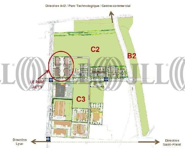 Activités/entrepôt St priest, 69800 - Parc ActY, activité à louer Saint-Priest - 9473424