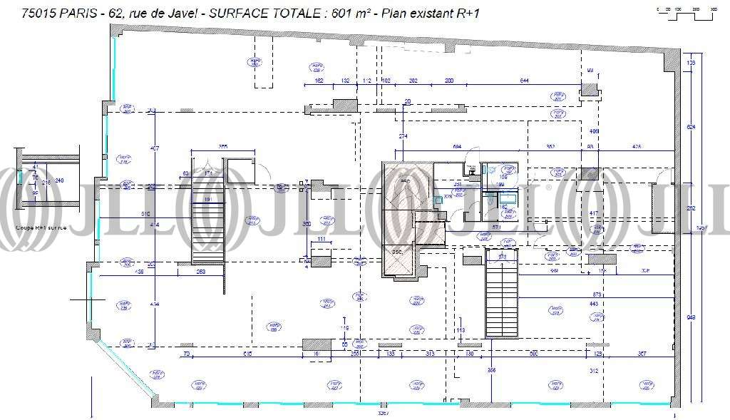 Bureaux Paris, 75015 - 62-64 RUE DE JAVEL - 9472443