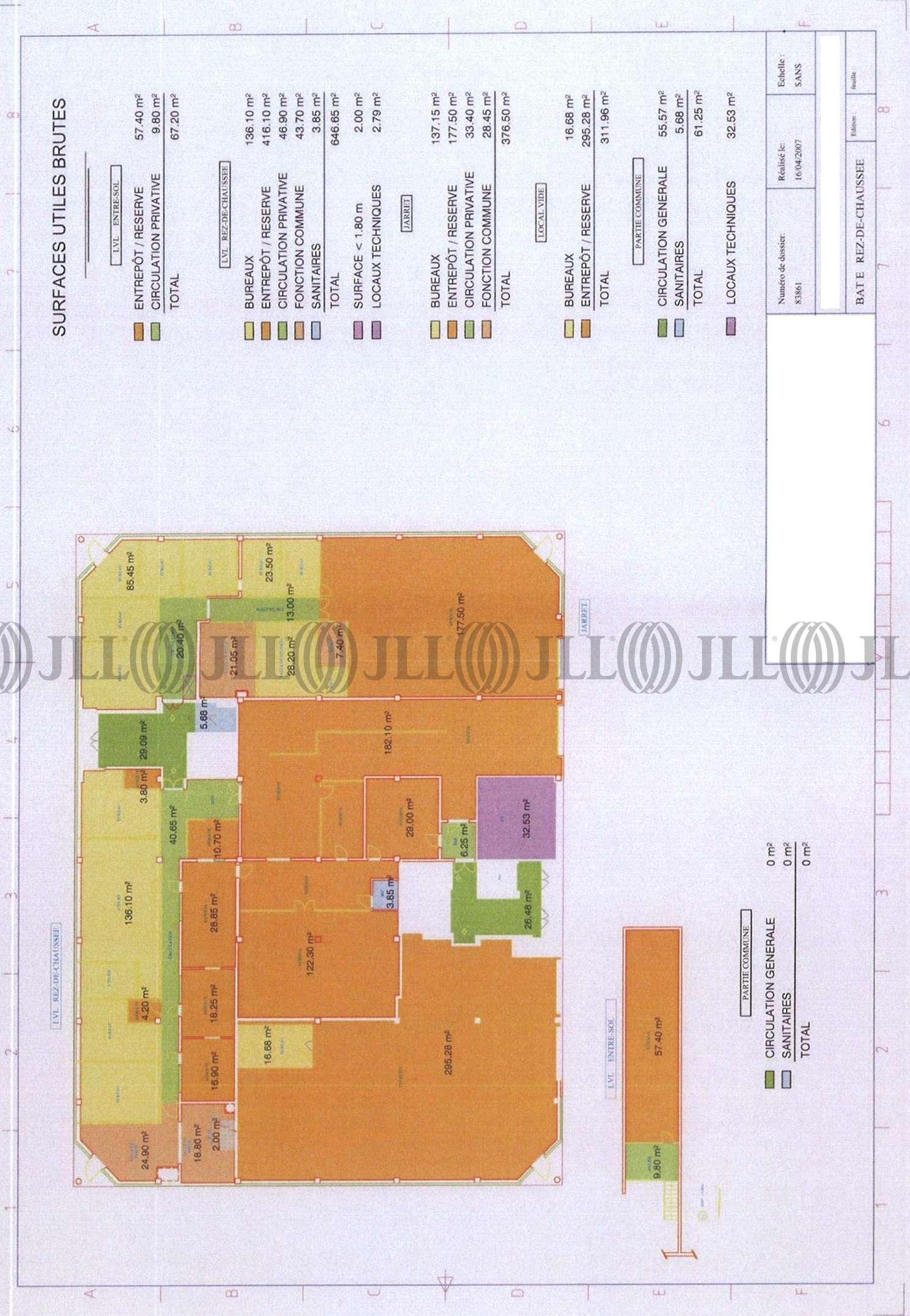 Bureaux Gennevilliers, 92230 - 14-38 RUE ALEXANDRE - 9447354