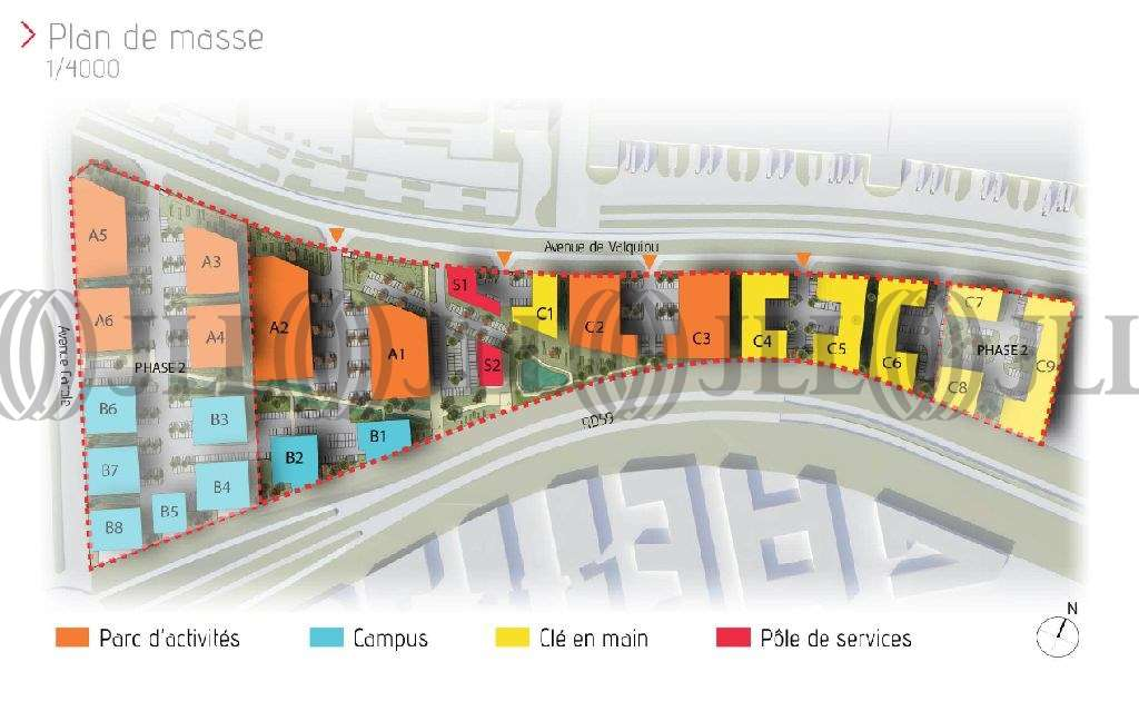 Activités/entrepôt Tremblay en france, 93290 - ZAC AEROLIANS (CLUSTER-PARC LOCATIF) - 9472552