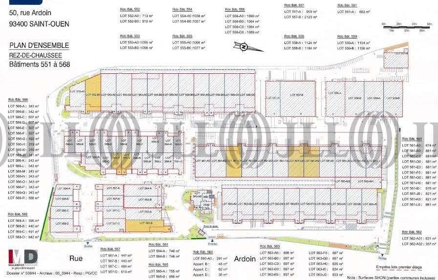Activités/entrepôt St ouen, 93400 - PARC DES DOCKS - 9463822