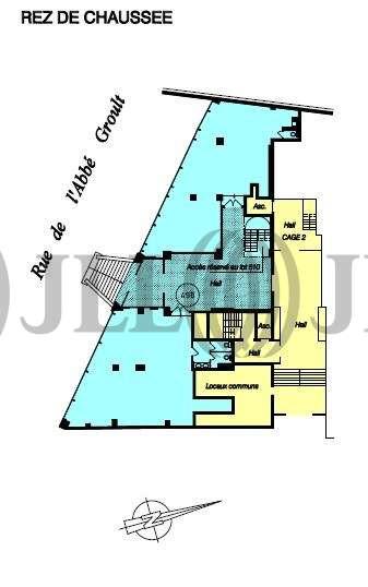 Bureaux Paris, 75015 - 127-131 RUE DE L'ABBE GROULT - 9461346