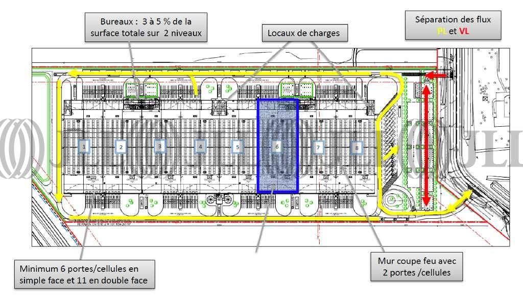 Plateformes logistiques Oudalle, 76430 -  PARC LOGISTIQUE DU PONT DE NORMANDIE - 9473832