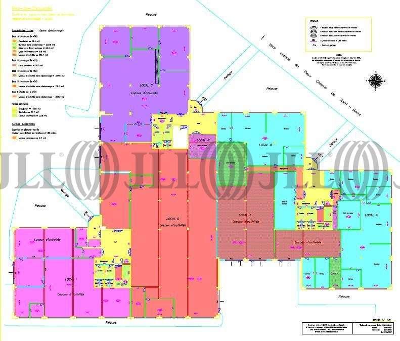 Activités/entrepôt Villeneuve la garenne, 92390 - 50-58 AVENUE DU VIEUX CHEMIN DE SAINT DENIS - 9455404