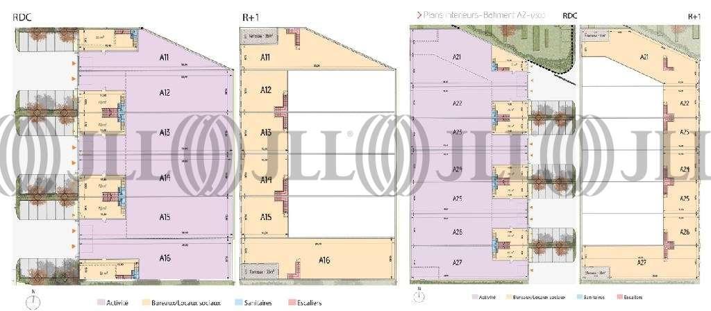 Activités/entrepôt Tremblay en france, 93290 - ZAC AEROLIANS (CLUSTER-PARC LOCATIF) - 9472553