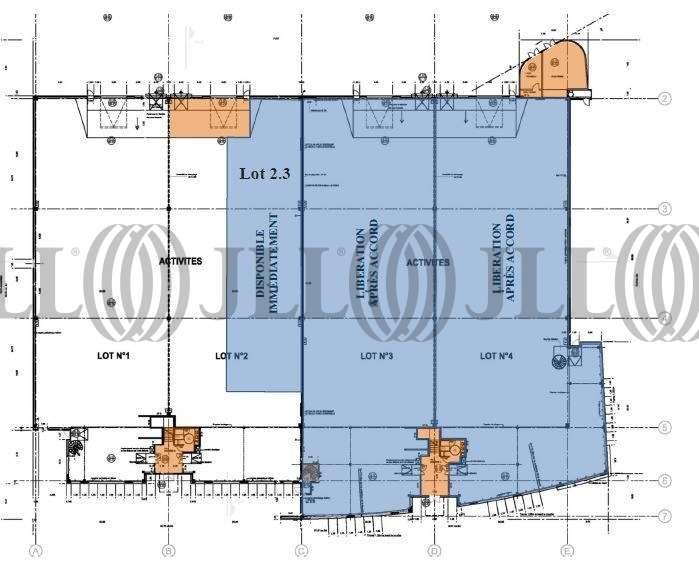 Activités/entrepôt Lieusaint, 77127 - PERIPARK BATIMENT 1 - 9445537