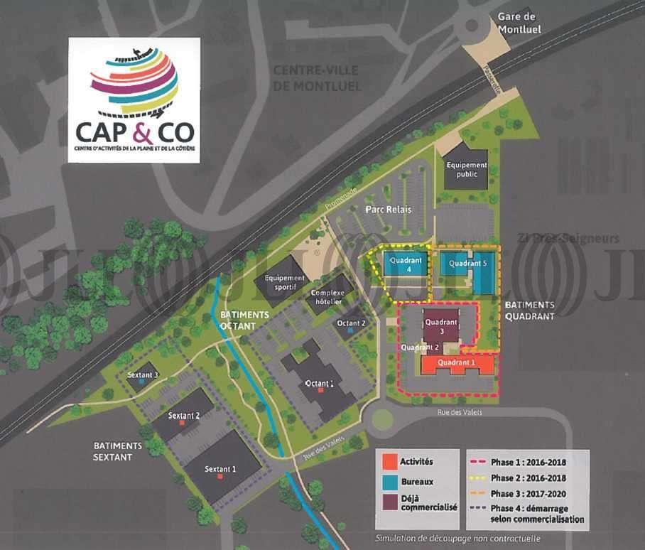 Activités/entrepôt Montluel, 01120 - Cap&Co Montluel - Parc d'activité Ain - 9462938
