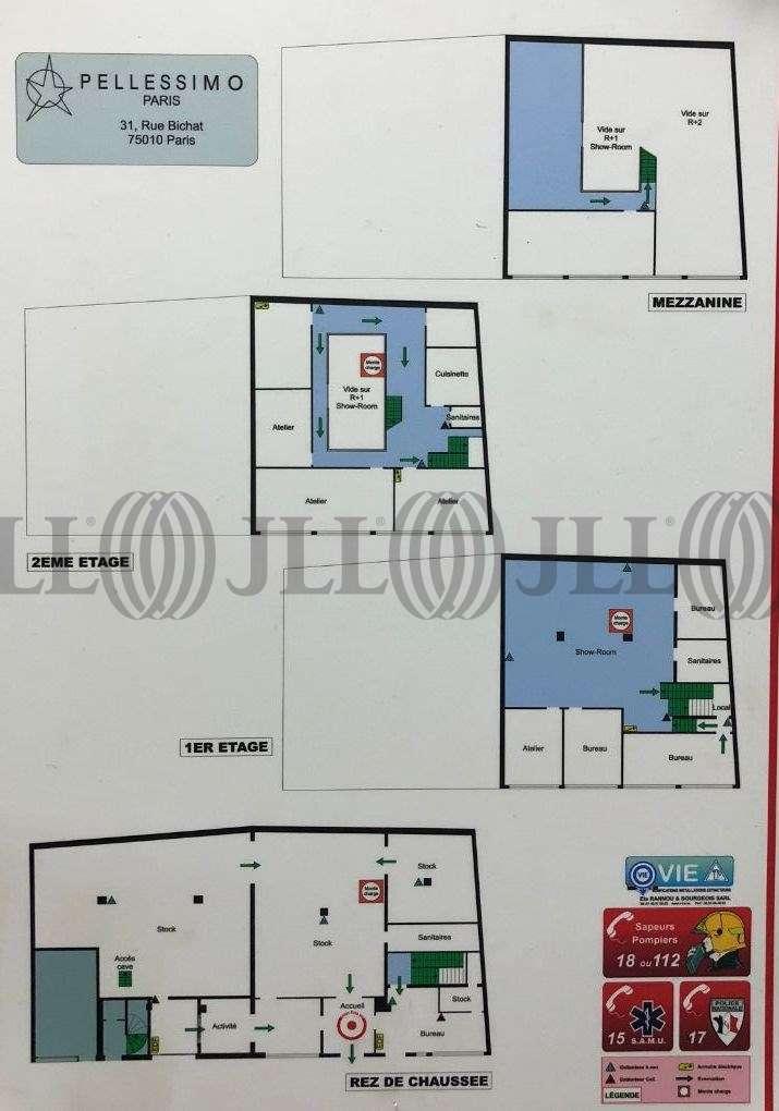 Bureaux Paris, 75010 - 31 RUE BICHAT - 9492332