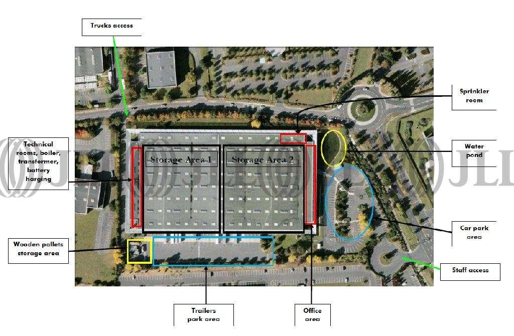 Activités/entrepôt Roissy en france, 95700 - PARIS NORD II - 9502251