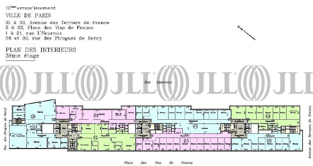 Bureaux Paris, 75012 - PARIS  BERCY - 9525947