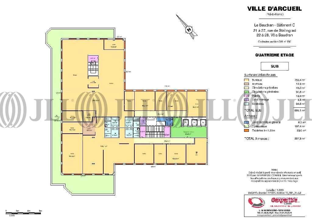 Bureaux Arcueil, 94110 - LE BAUDRAN - 9535473