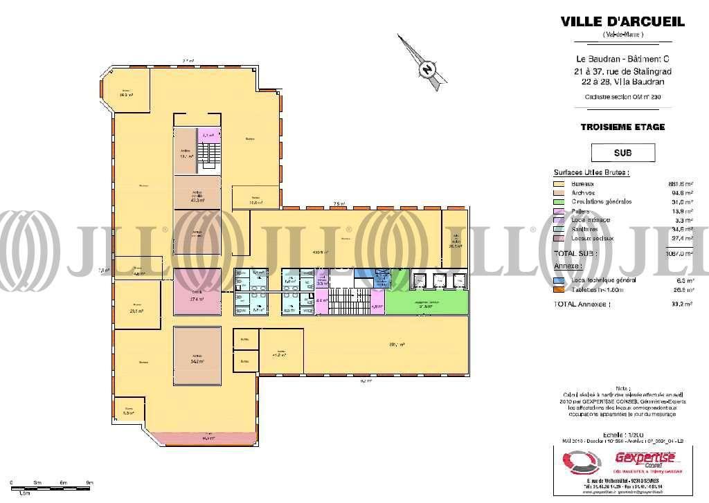 Bureaux Arcueil, 94110 - LE BAUDRAN - 9535932