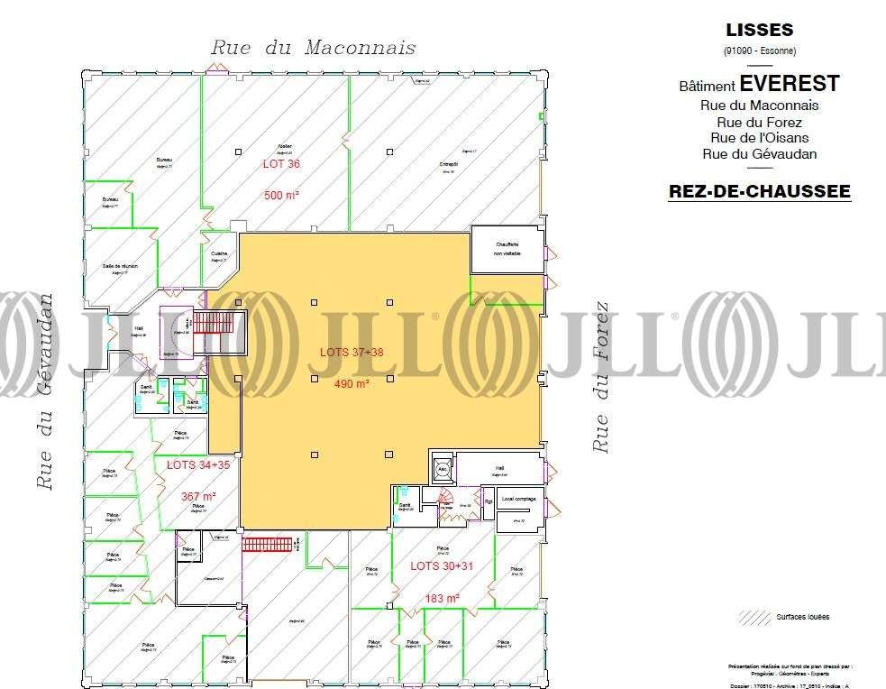 Activités/entrepôt Lisses, 91090 - EVEREST - PETITE MONTAGNE SUD - 9537266