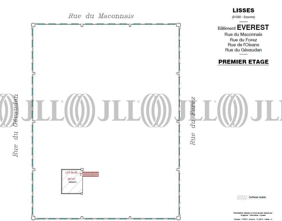 Activités/entrepôt Lisses, 91090 - EVEREST - PETITE MONTAGNE SUD - 9537267
