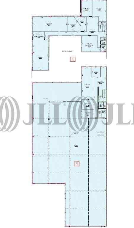 Activités/entrepôt Genas, 69740 - Transporteur : location bâtiment mixte - 9572745