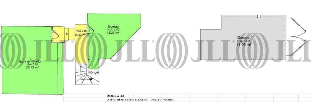 Bureaux Paris, 75017 - 2BIS RUE DE LOGELBACH - 9581744
