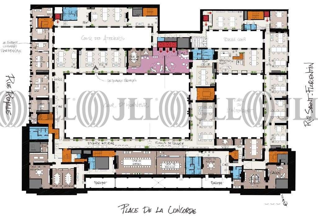 Bureaux Paris, 75008 - HOTEL DE LA MARINE - 9583291