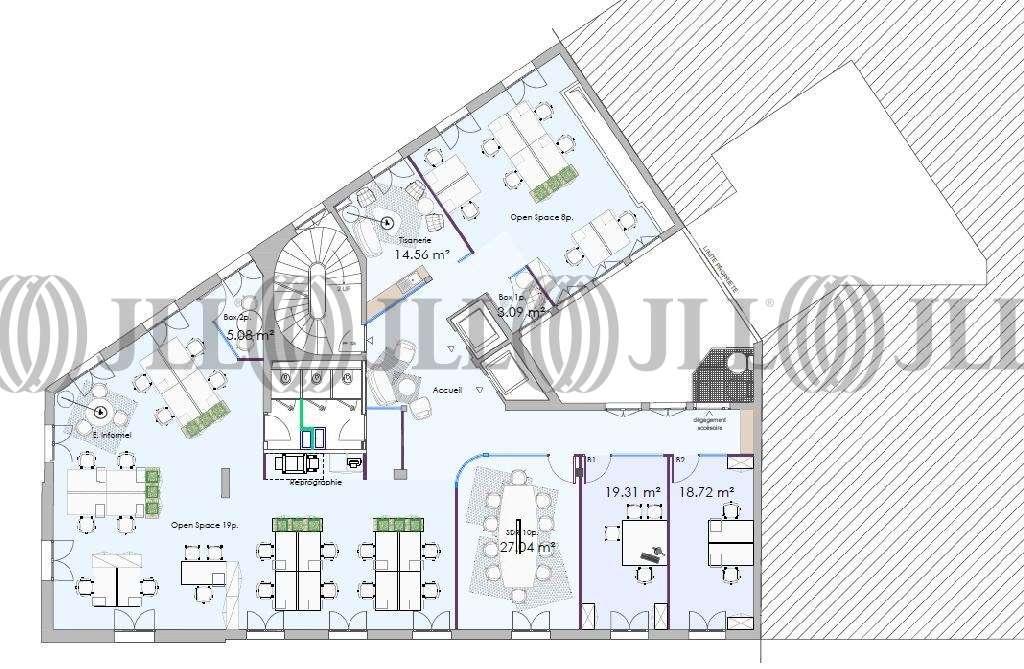 Bureaux Paris, 75008 - 43 AVENUE DE FRIEDLAND - 9641613