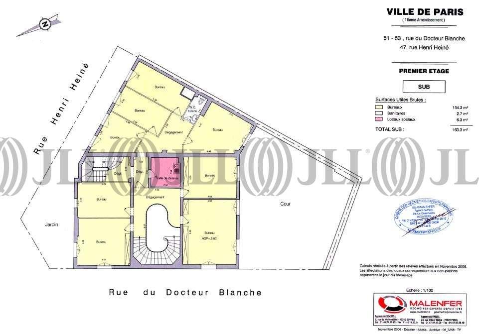 Bureaux Paris, 75016 - 51-53 RUE DU DOCTEUR BLANCHE - 9733219