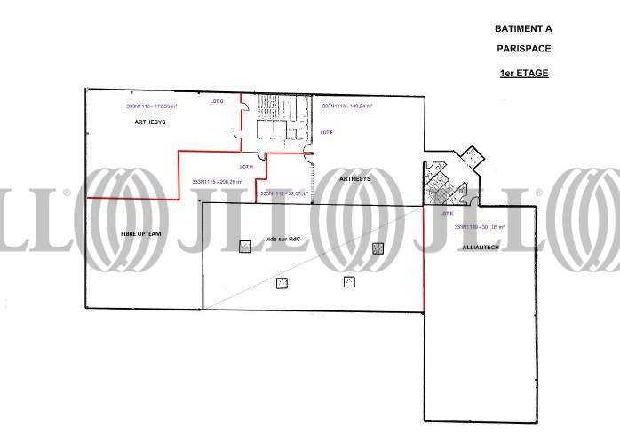 Bureaux Gennevilliers, 92230 - PARISPACE - 9748921