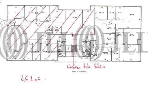 Bureaux Caluire et cuire, 69300 - LES PORTES DU RHONE - 9761958