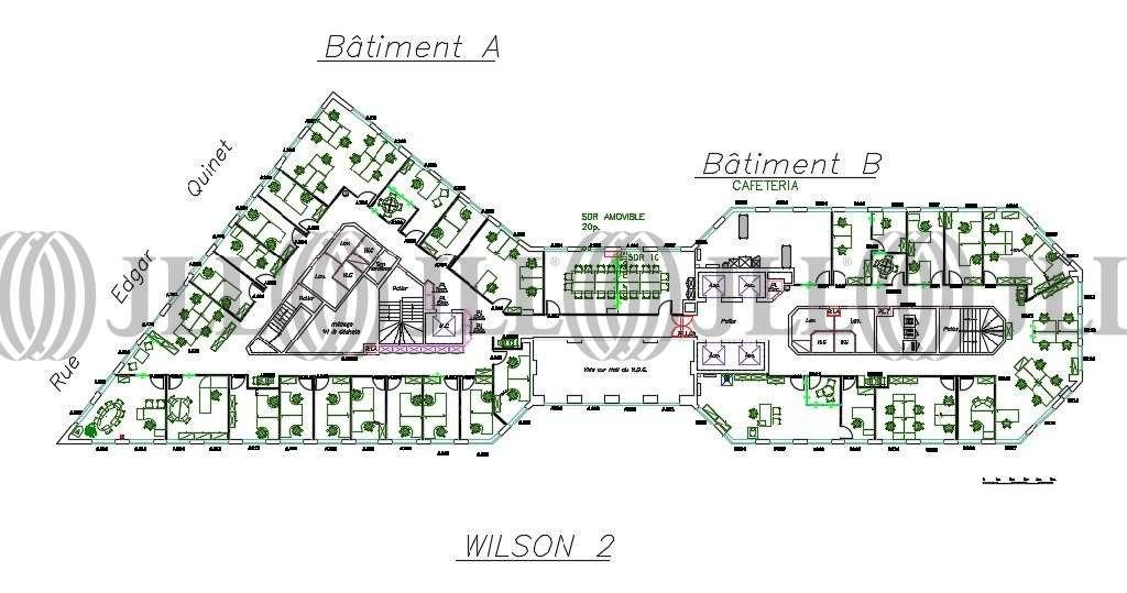 Bureaux Puteaux, 92800 - 70-80 WILSON - 9771602