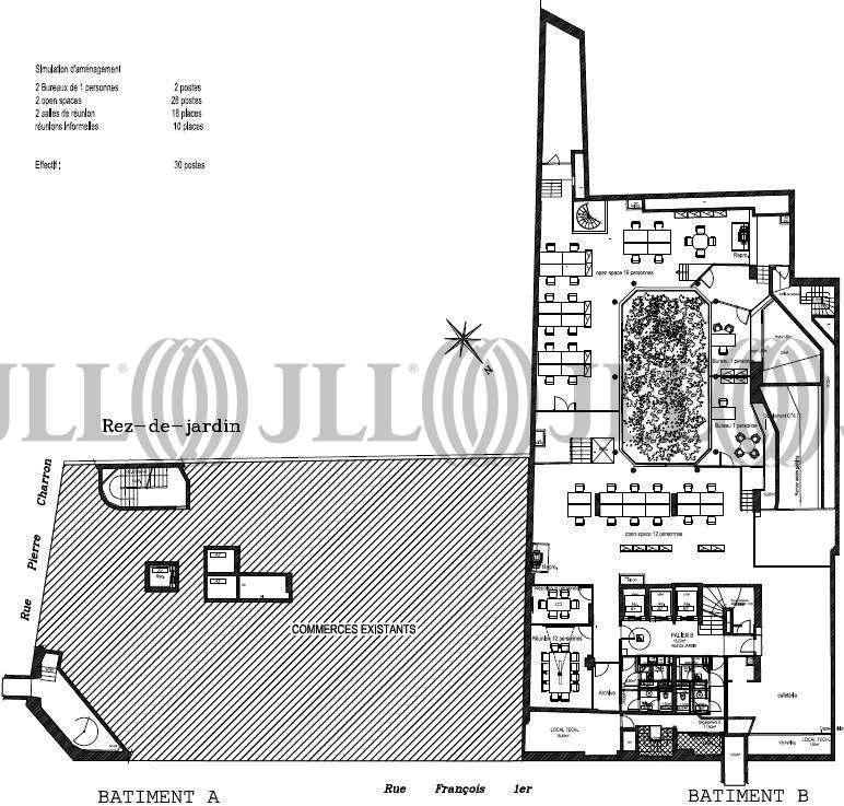 Bureaux Paris, 75008 - 49-51 RUE FRANCOIS 1ER - 9782452