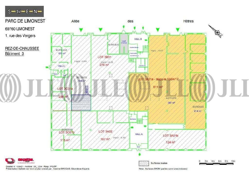 Activités/entrepôt Limonest, 69760 - Swen Parc : location entrepot Limonest - 9797442
