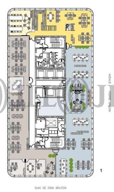 Bureaux Puteaux, 92800 - TOUR INITIALE - 9802507