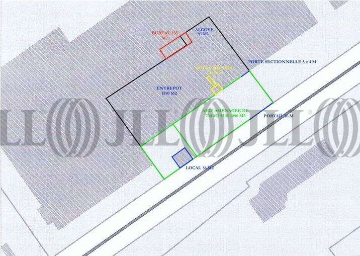 Activités/entrepôt Genay, 69730 - Entrepot à vendre Lyon Nord - Genay - 9847805