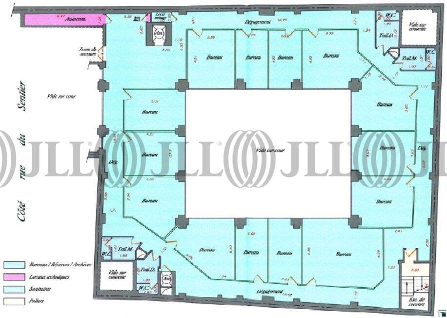 Bureaux Paris, 75002 - 24 RUE DU SENTIER - 9856583