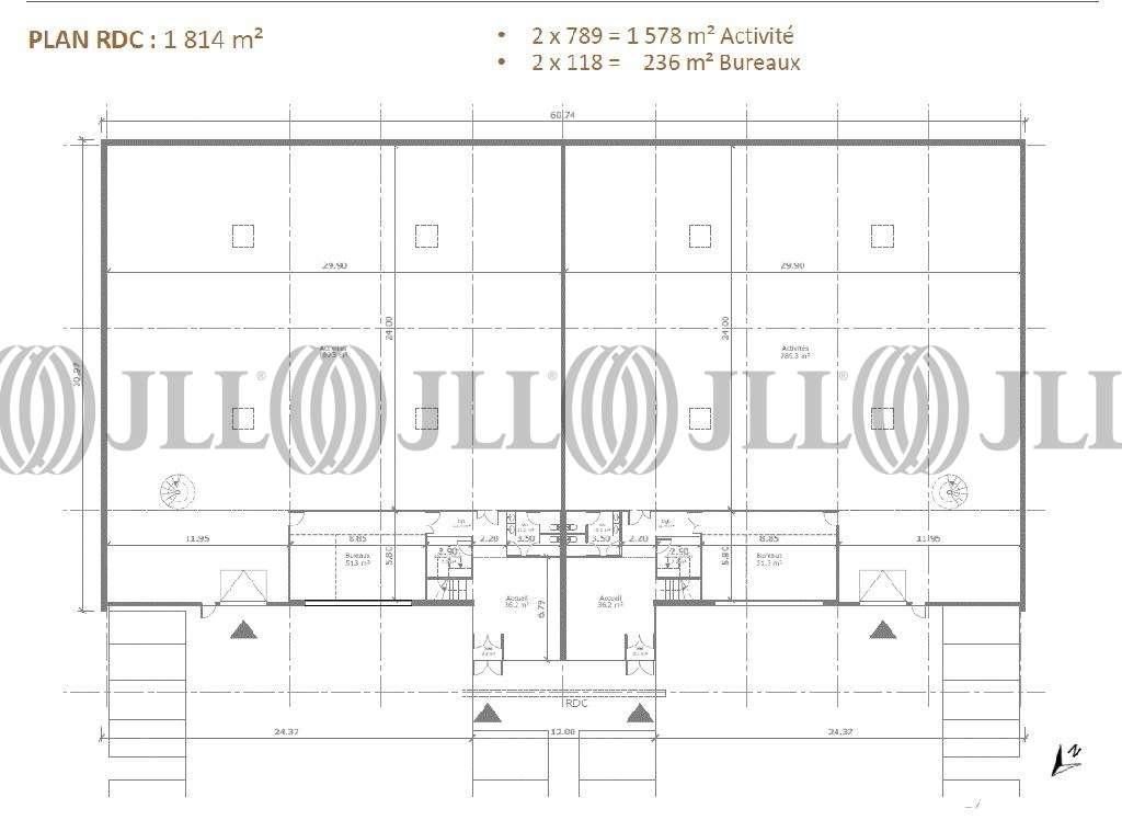 Activités/entrepôt Rillieux la pape, 69140 - Highland - Programme mixte Lyon Nord - 9857176