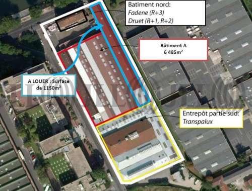 Activités/entrepôt St ouen, 93400 - 1 QUAI DE SEINE - 9469769