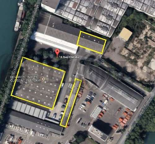 Activités/entrepôt L ile st denis, 93450 - 16 QUAI DU CHATELIER - 9506405