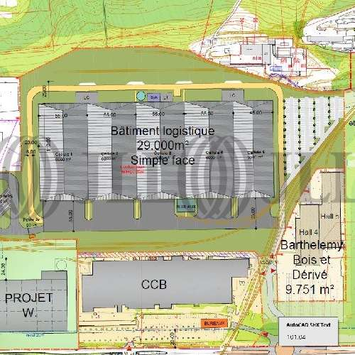 Plateformes logistiques Le cheylas, 38570 - Location plateforme logistique neuve - 9630547