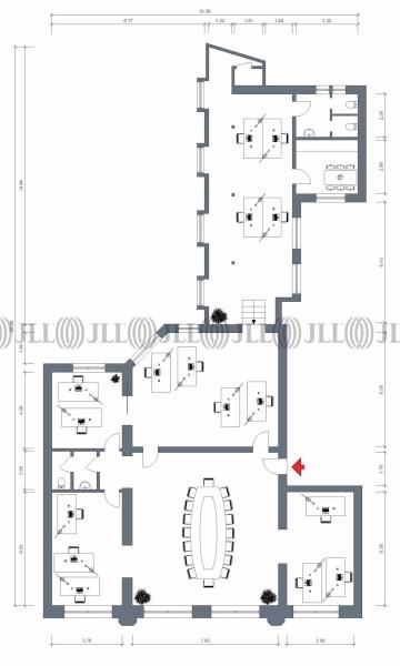 Teeküche büro grundriss  Büro - Hamburg, Altstadt - H0440,   JLL