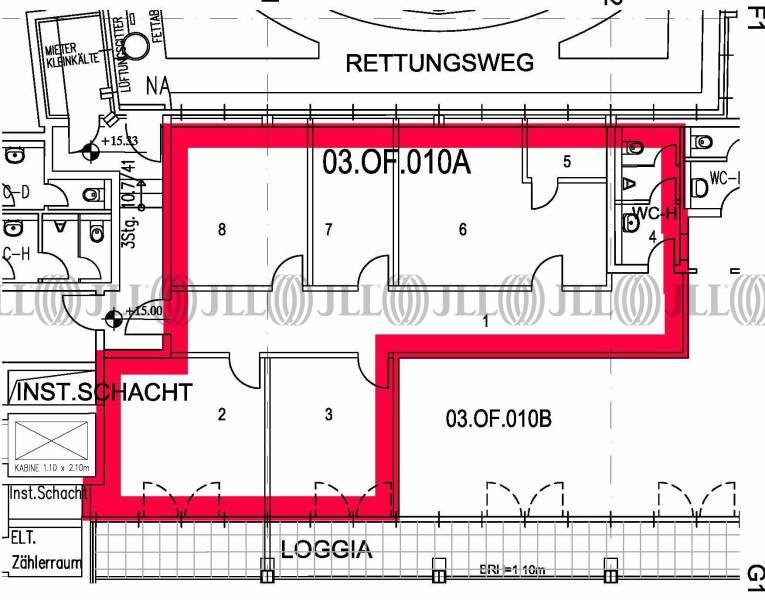 Teeküche büro grundriss  Büro - Dresden, Innere Altstadt - B0235,   JLL