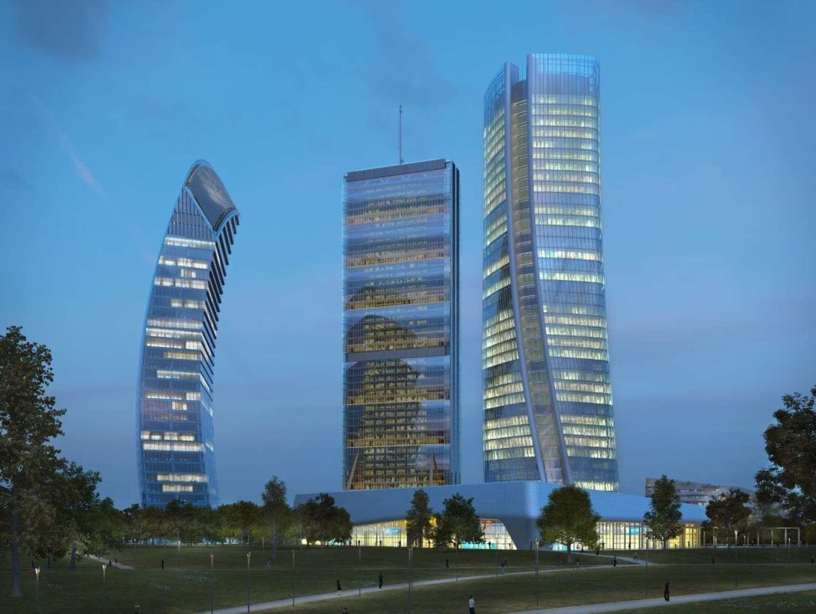 Torre libeskind uffici immobili per in locazione jll for Uffici a milano