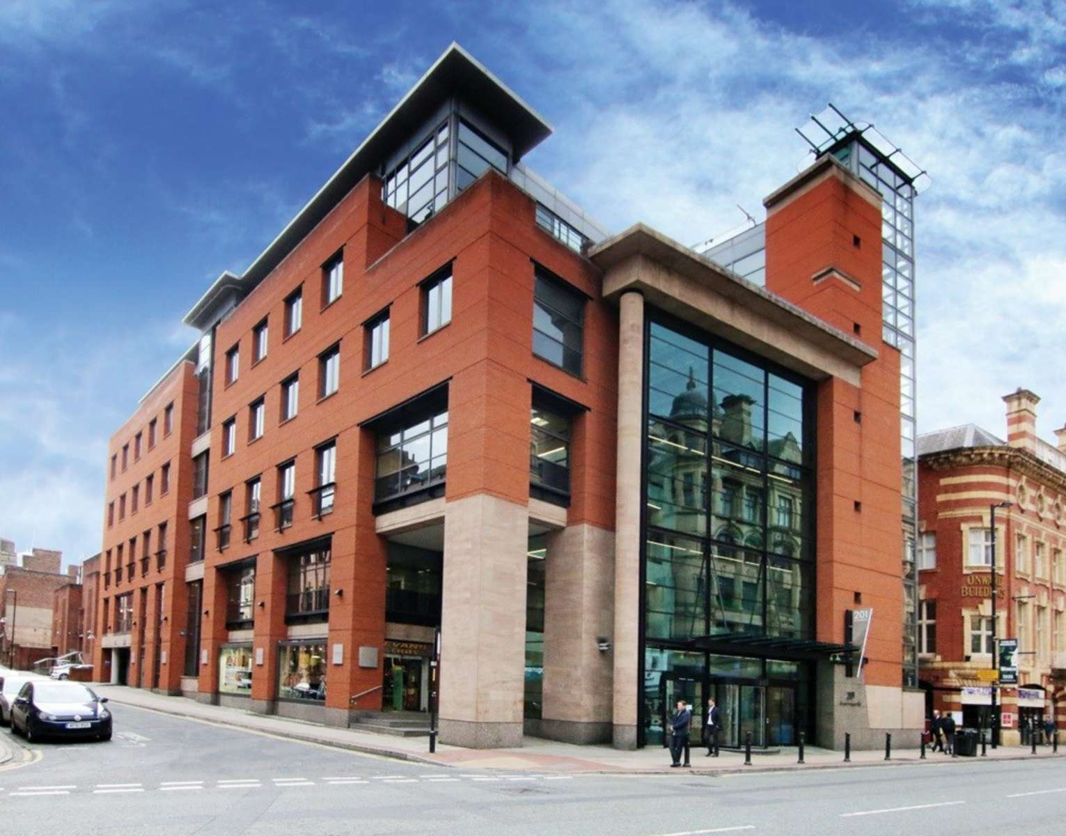 Office Property To Rent 201 Deansgate M3 3nw Manchester
