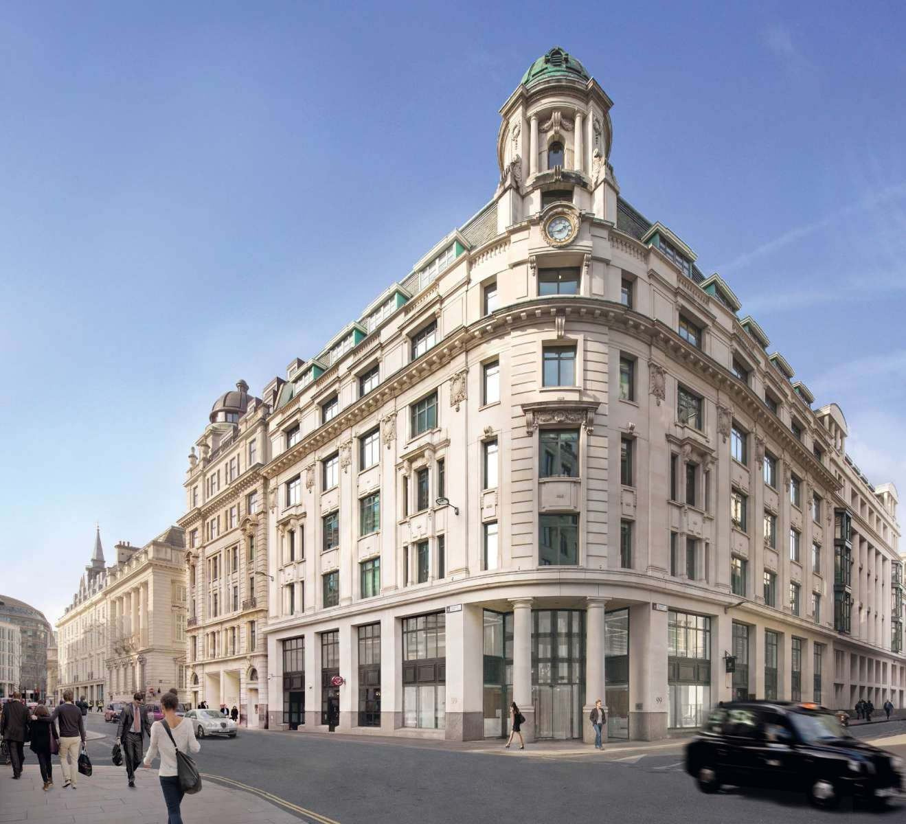 Office property to rent 99 gresham street ec2v 7ng london for Gresham house